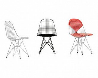 Стул Wire Chair DKR фабрики Vitra