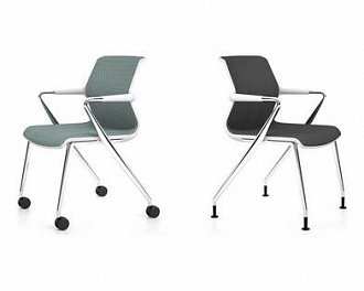 Офисное кресло Unix Chair Four-legged Base фабрики Vitra