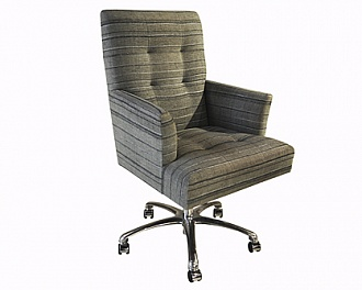 Кресло Eaton Swivel Chair фабрики Rubelli Casa