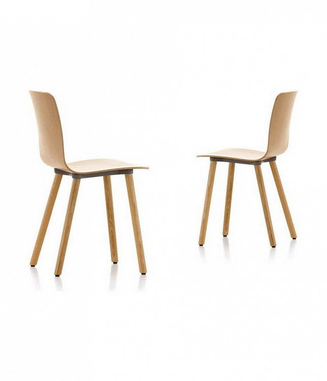 Стул HAL Ply Tube/Wood фабрики Vitra Фото N3