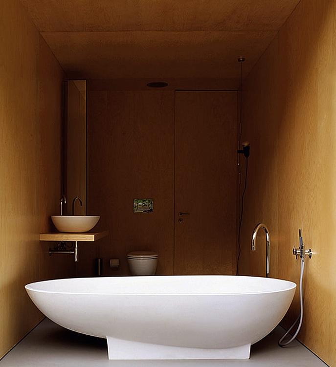 Итальянская дизайнерская ванна Spoon